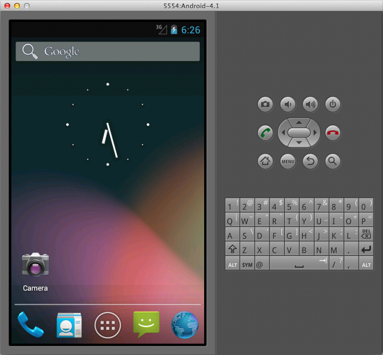 android 4 x emulator download